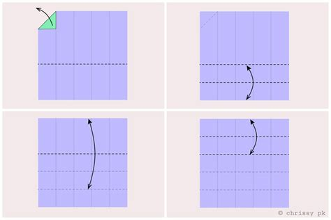 How To Fold Paper Into 10 Squares - how to fold paper into 10 squares 28 images how to
