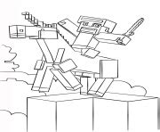 minecraft unicorn coloring page minecraft coloring pages unicorn murderthestout
