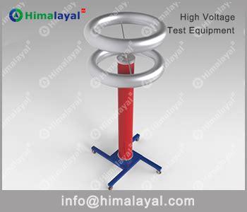 capacitor high voltage divider hvf 260kv 3000pf capacitive voltage divider 200kv 400kv range himalayal high voltage test