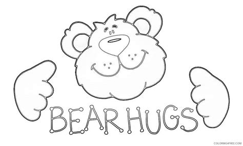 bear hug coloring pages 90 tc bear coloring page preschool polar bear for