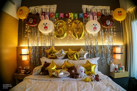 Themed Birthday Party Singapore | line themed birthday party at le meridien singapore