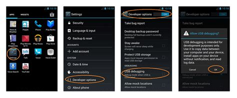 usb debugging android how to enable usb debugging mode on android gadgetflix