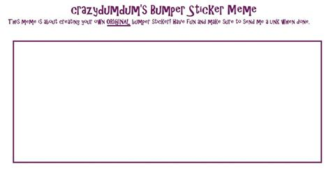 bumper sticker templates bumper sticker template beautiful template design ideas