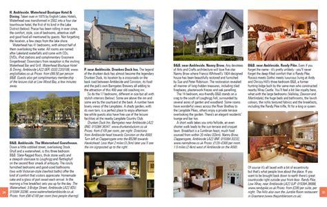 travel bureau the lake district and cumbria travel guide