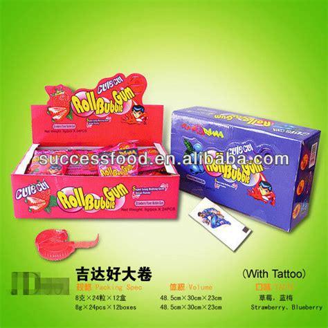 tattoo gum cream orbit bubble gum with tattoo products china orbit bubble