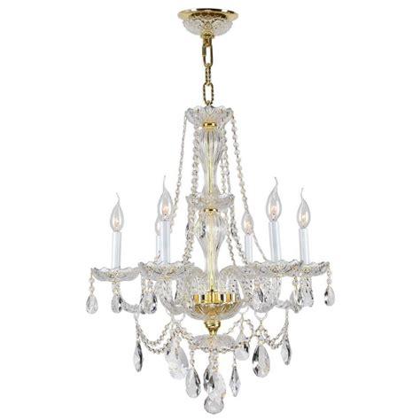 Chandelier At Lowes Shop Worldwide Lighting 6 Light Crystal Chandelier At