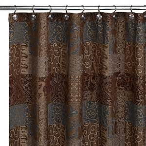 Bed Bath And Beyond Shower Curtain galleria fabric shower curtain by croscill bed bath amp beyond