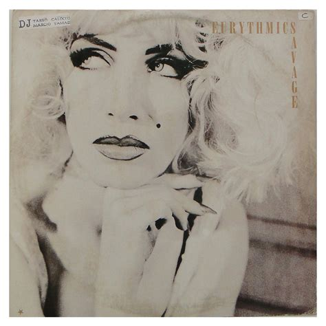 Usvi Records Disco De Vinil Eurythmics Quot Savage Quot Vinil Records