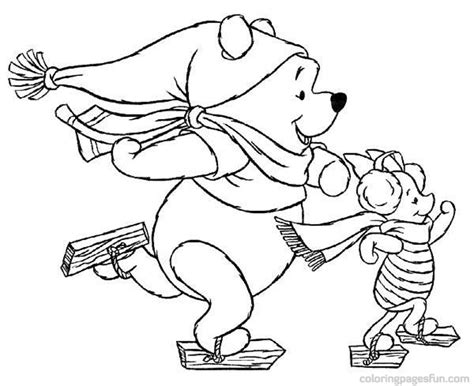 disney christmas coloring pages color on pages coloring
