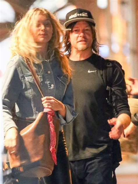 does norman reedus have a girlfriend norman reedus dating mystery blonde moved on from diane
