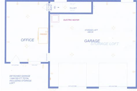 detached home office plans large detached garage with office space and easy access