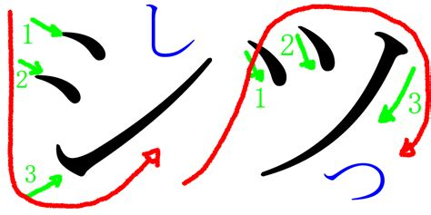 shu in japanese file difference between tsu and shi in japanese katakana