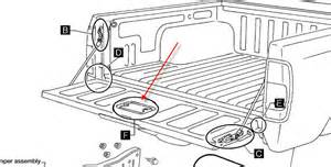 Nissan Frontier Tailgate Parts Nissan An Tailgate Parts Diagram Nissan Wiring Diagram