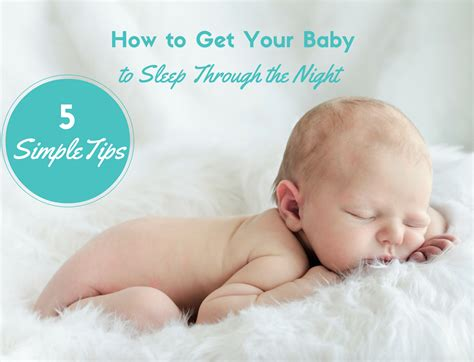 How To Get My Baby To Nap In His Crib How To Get Baby To Sleep Through The Sleep Baby Sleep