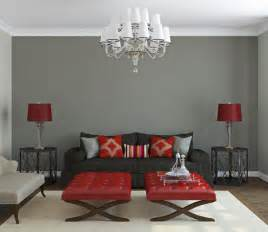 grey bases warm color scheme for interior design