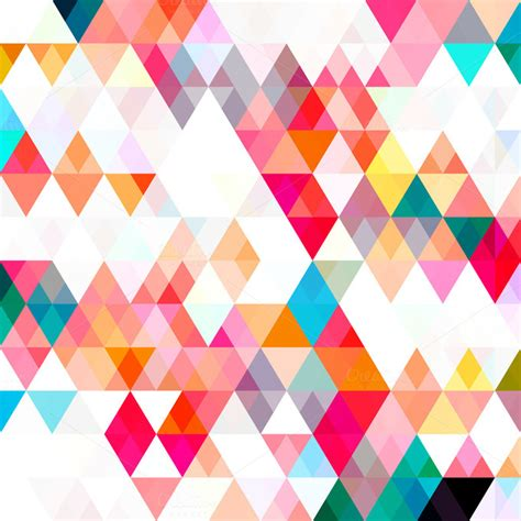 color pattern modern triangle color pattern abstract photos on creative market