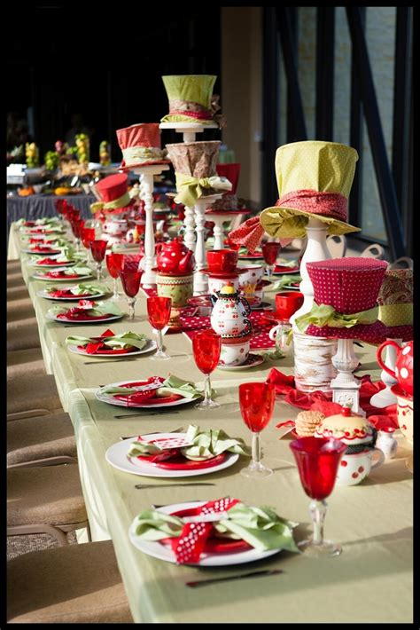 Pinterest Discover And Save Creative Ideas Mad Hatter Centerpieces