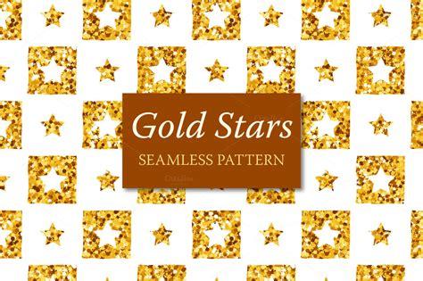 seamless pattern indesign gold stars seamless pattern patterns on creative market