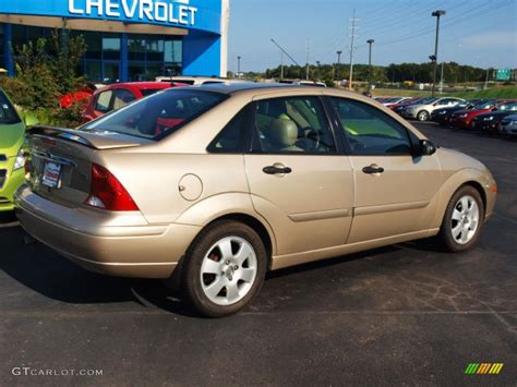 2002 ford focus zts fort gold 2002 ford focus zts sedan exterior photo