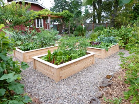 Raised Vegetable Bed by Raised Bed Design Plans Home Decoration Live