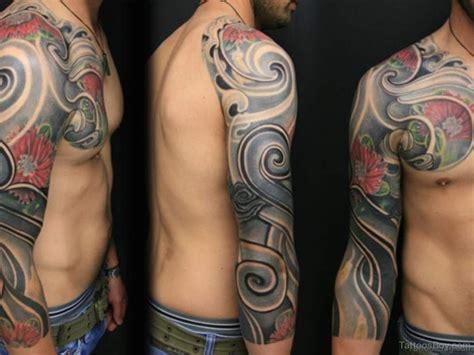 flower and tribal tattoo 56 maori designs on sleeve