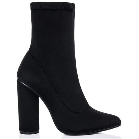 scirica black ankle boots shoes from spylovebuy