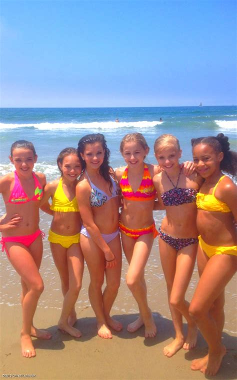 paige dance moms in swimsuit kendall maddie brooke chloe paige and nia on the