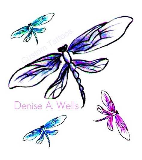 butterfly dragonfly tattoo designs quot dragonfly quot designs by a