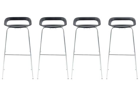 Tabourets De Bar Pas Chers by Lot Tabouret De Bar Lot De 4 Tabouret Bar Dave Tabourets