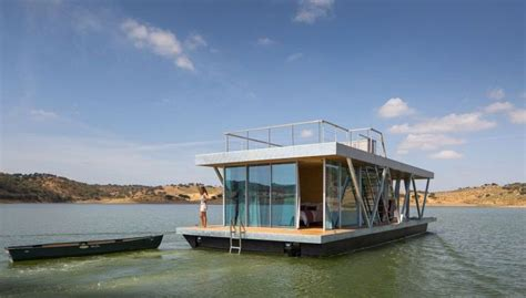 solar powered floatwing home in portugal generates a year floatwing self generates all energy needs for a week