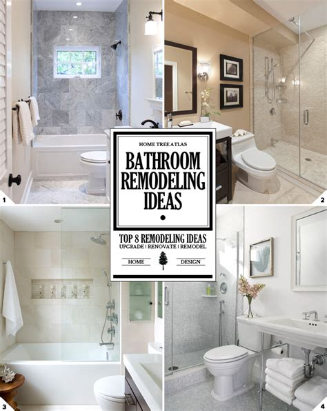 bathroom upgrade ideas the upgrade top 8 bathroom remodeling ideas and design