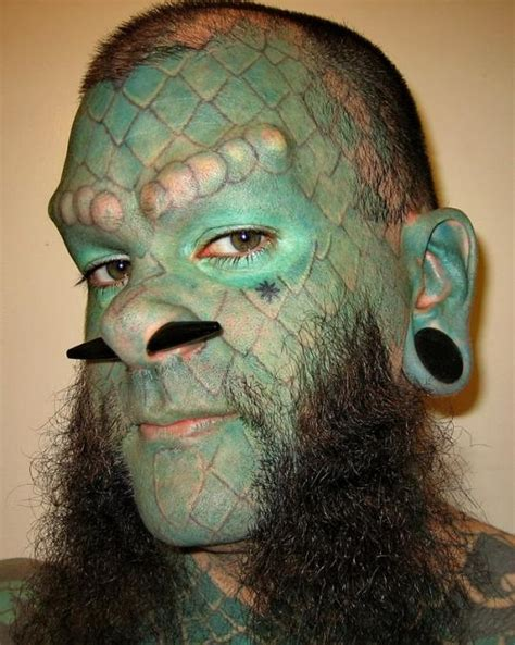 lizard man tattoo lizard legimin sastro