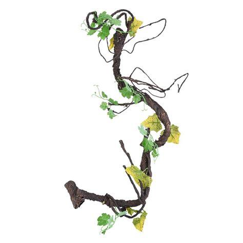 flexible vines habitat decor bendable jungle climber
