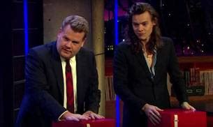 harry styles tattoo late late show watch harry styles gets a tattoo on live television