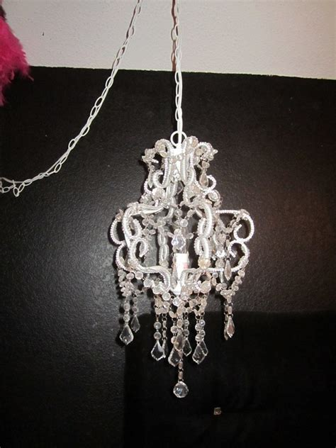 Teen Bling Hollywood Glam Bedroom For The Girly Girl With Hobby Lobby Chandelier
