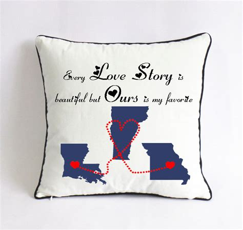 Distance Pillow Buy by Distance Story Pillow 18x18 Cushion