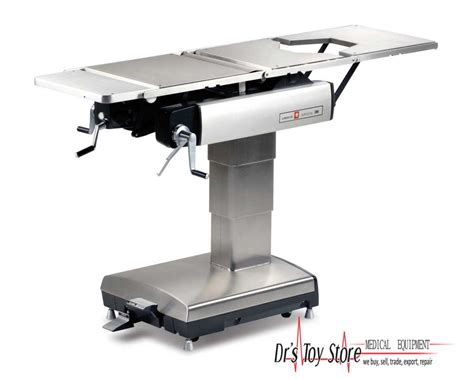 Surgical Table by Amsco 2080m Manual Surgical Table New And Used