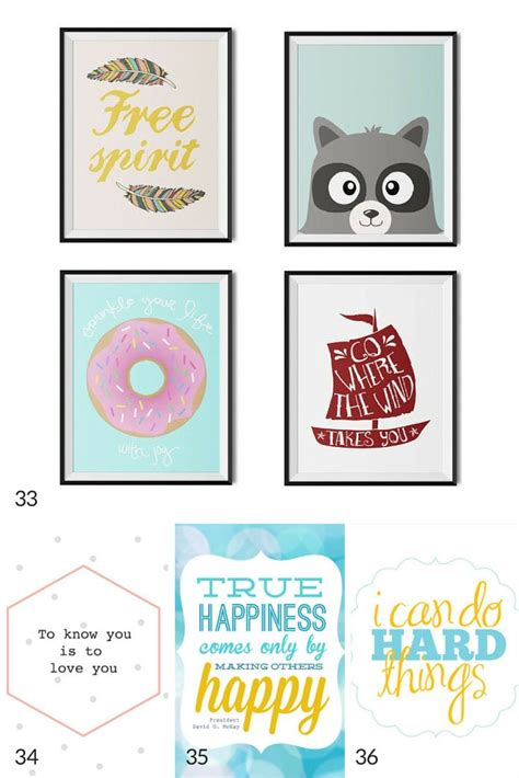 nursery printables thatll  good   babys room  printable art art