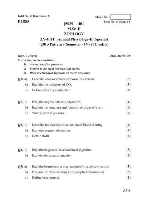 net zoology pattern m sc part i 2013 pattern zoology oct 2016 old question paper