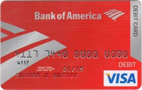 Bofa Visa Gift Card - bank card bank of america visa debit bank of america united states of america col