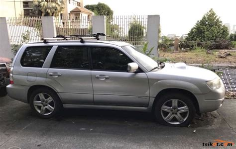 2007 subaru forester type subaru forester 2007 car for sale metro manila philippines