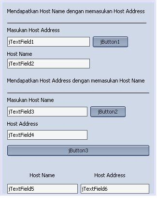 tutorial netbeans mysql tutorial java netbeans mysql cara mendapatkan ip address