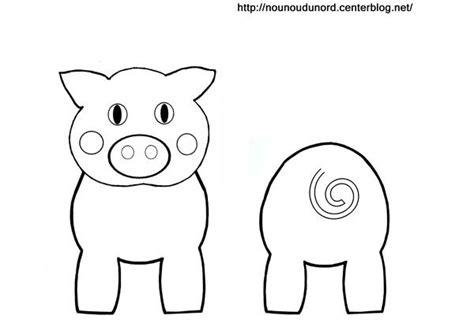 dessin sur papier toilette coloriage cochon pour rouleau de papier wc boerderij