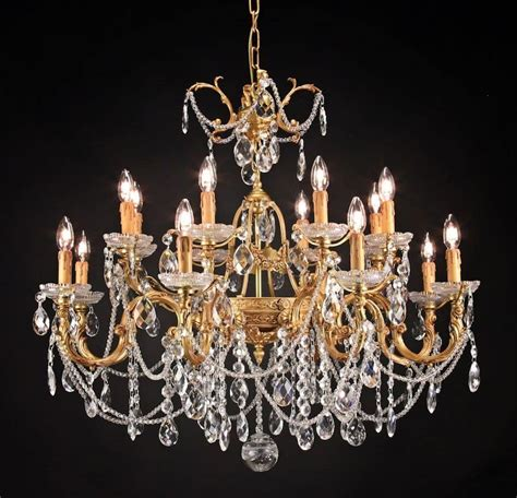 Luxurious Chandeliers Luxurious Chandelier With Decorations Idfdesign