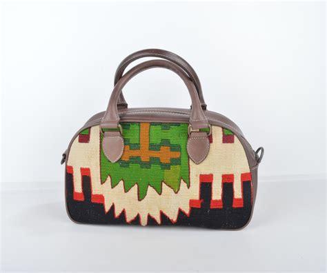 Rug Bags by Turkish Kilim Handbag Handwoven Embroidered Rug Bag
