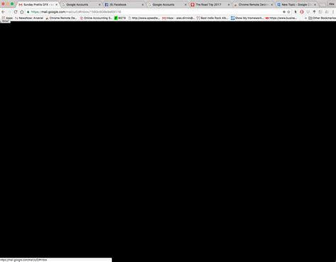 chrome black screen screen goes black google product forums