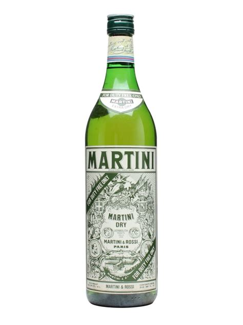 extra dry martini martini extra dry vermouth bot 1980s litre the