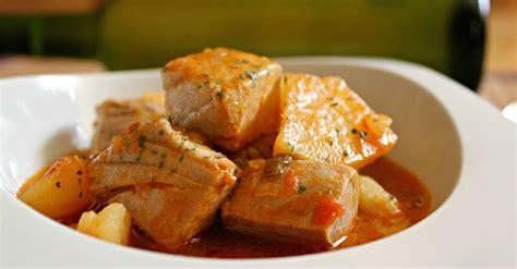 marmitako fresh tuna and potato stew