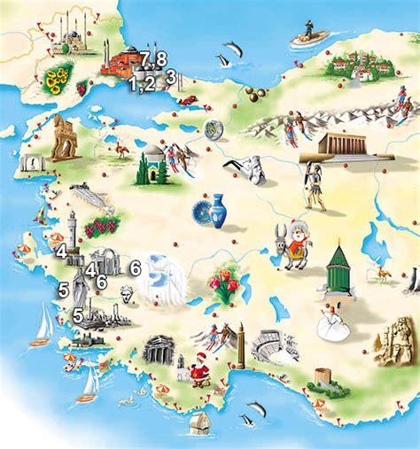 tour map istanbul ephesus prienne pamukkale 7 nights 8 days