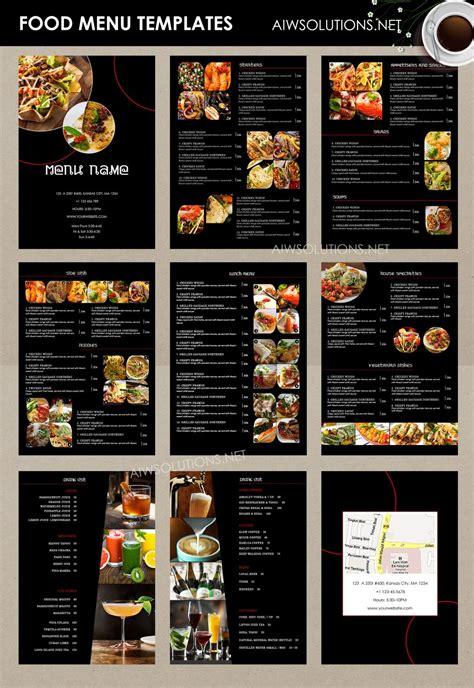 custom menu template design templates menu templates wedding menu food